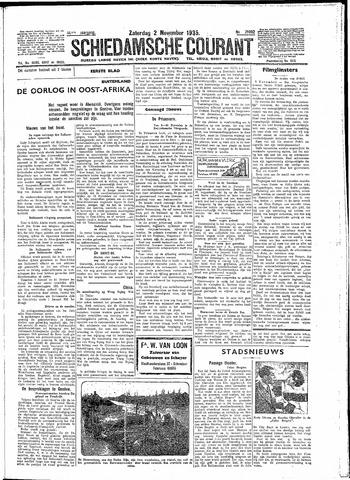 Schiedamsche Courant 1935-11-02