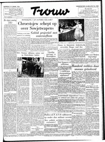 Trouw / De Rotterdammer 1956-04-24