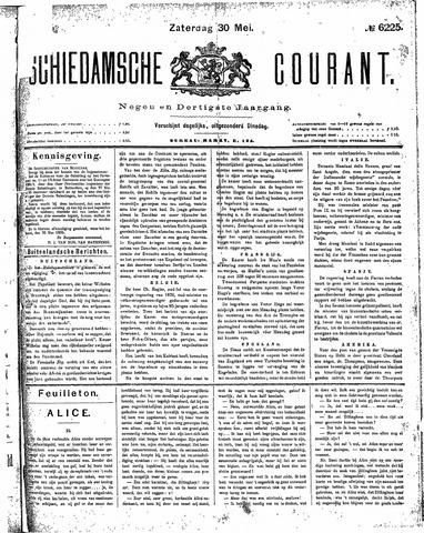 Schiedamsche Courant 1885-05-30