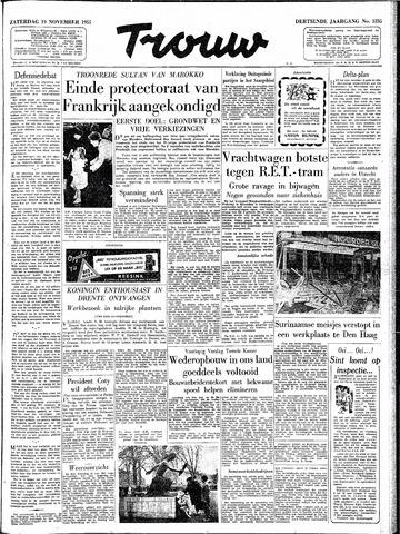 Trouw / De Rotterdammer 1955-11-19