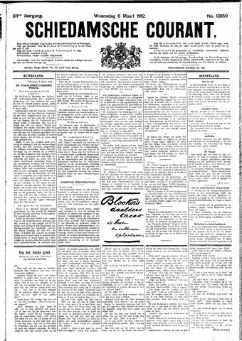 Schiedamsche Courant 1912-03-06