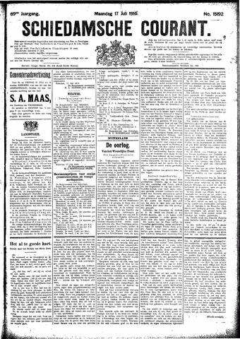 Schiedamsche Courant 1916-07-17