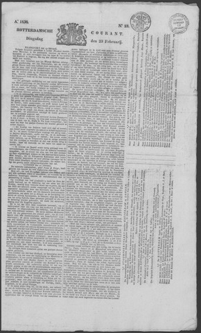 Rotterdamse Courant 1836-02-23