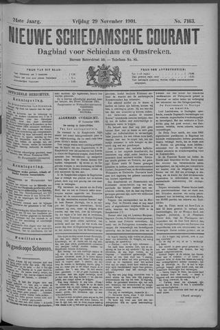 Nieuwe Schiedamsche Courant 1901-11-29