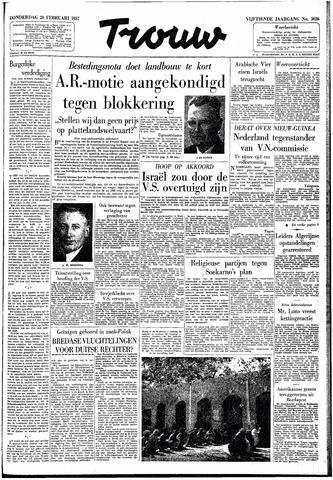 Trouw / De Rotterdammer 1957-02-28