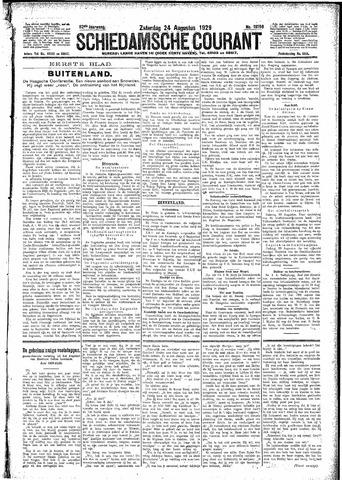 Schiedamsche Courant 1929-08-24