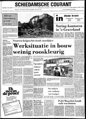 Rotterdamsch Nieuwsblad / Schiedamsche Courant / Rotterdams Dagblad / Waterweg / Algemeen Dagblad 1980-06-11