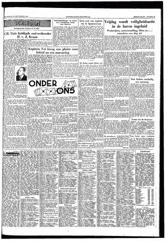 Rotterdamsch Nieuwsblad / Schiedamsche Courant / Rotterdams Dagblad / Waterweg / Algemeen Dagblad 1953-09-24