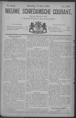Nieuwe Schiedamsche Courant 1886-06-19