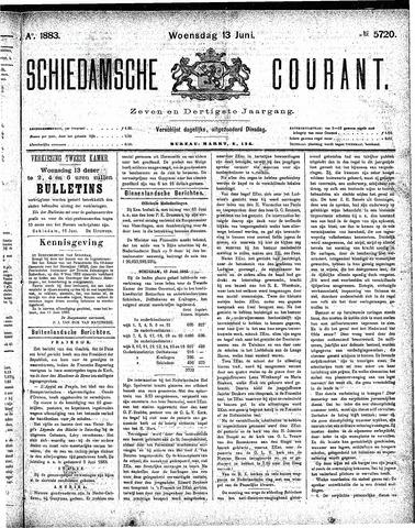 Schiedamsche Courant 1883-06-13
