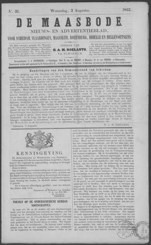 De Maasbode 1853-08-03