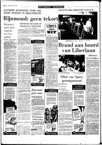 Rotterdamsch Parool / De Schiedammer 1966-02-11