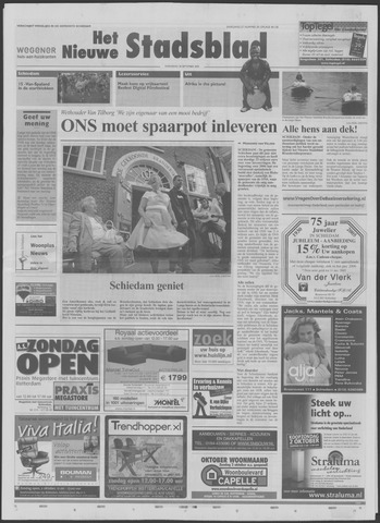 Het Nieuwe Stadsblad 2005-09-28