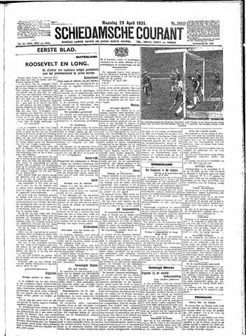 Schiedamsche Courant 1935-04-29