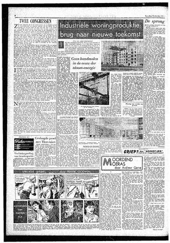 Rotterdamsch Parool / De Schiedammer 1957-10-12