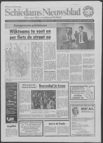 Schiedams Nieuwsblad 1985-02-06