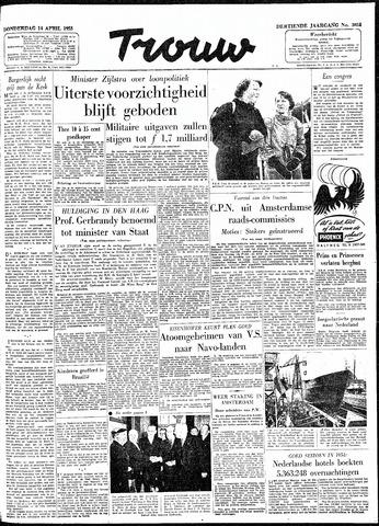Trouw / De Rotterdammer 1955-04-14