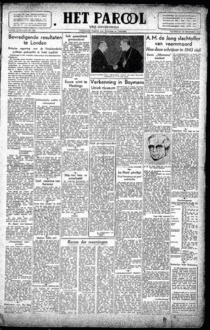 Rotterdamsch Parool / De Schiedammer 1945-12-29