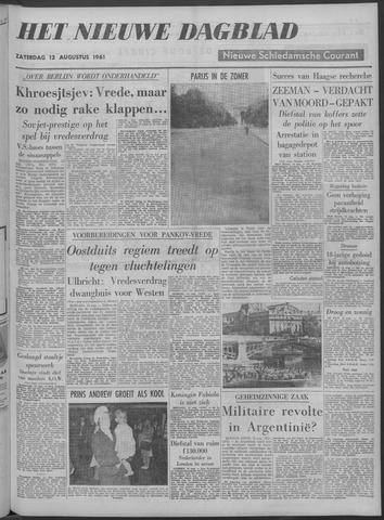 Nieuwe Schiedamsche Courant 1961-08-12