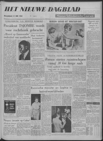 Nieuwe Schiedamsche Courant 1961-05-08