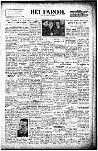 Rotterdamsch Parool / De Schiedammer 1947-01-07