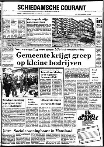 Rotterdamsch Nieuwsblad / Schiedamsche Courant / Rotterdams Dagblad / Waterweg / Algemeen Dagblad 1980-11-07