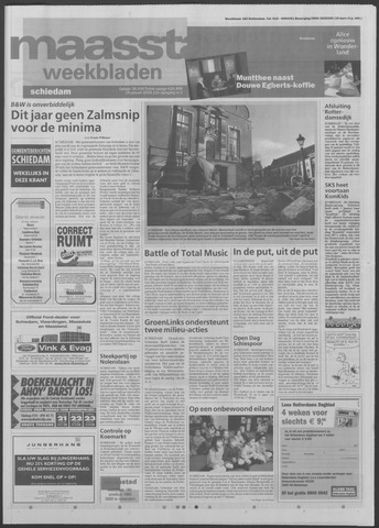 Maaspost / Maasstad / Maasstad Pers 2005-01-19