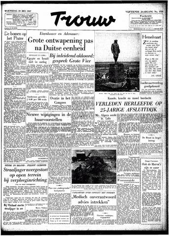 Trouw / De Rotterdammer 1957-05-29
