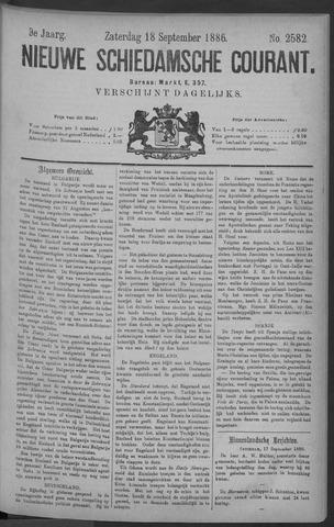Nieuwe Schiedamsche Courant 1886-09-18