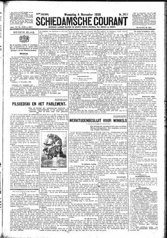 Schiedamsche Courant 1929-11-06