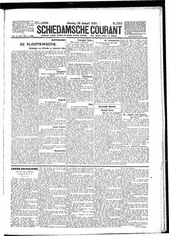 Schiedamsche Courant 1935-01-29