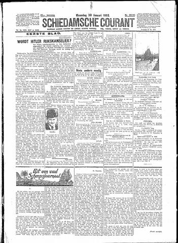 Schiedamsche Courant 1933-01-30
