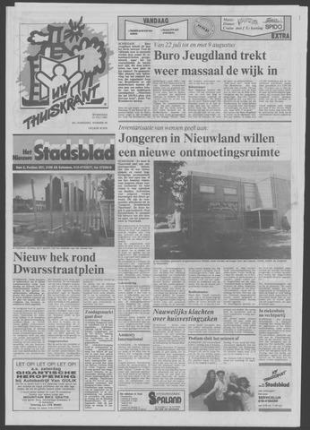 Het Nieuwe Stadsblad 1991-07-10