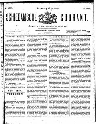 Schiedamsche Courant 1883-01-13