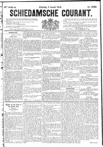 Schiedamsche Courant 1908-01-04