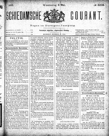 Schiedamsche Courant 1885-05-06