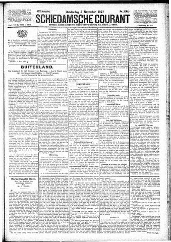 Schiedamsche Courant 1927-11-03