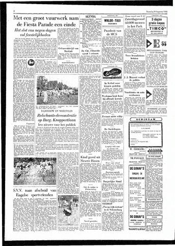 Rotterdamsch Parool / De Schiedammer 1955-08-29