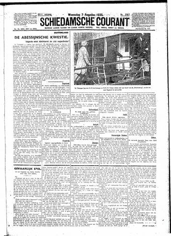 Schiedamsche Courant 1935-08-07