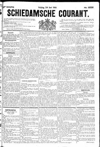 Schiedamsche Courant 1910-06-24