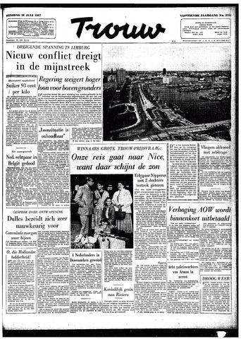 Trouw / De Rotterdammer 1957-07-30