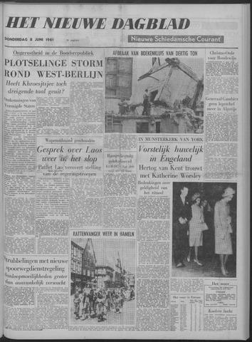 Nieuwe Schiedamsche Courant 1961-06-08