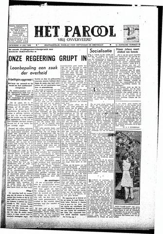 Rotterdamsch Parool / De Schiedammer 1945-07-14