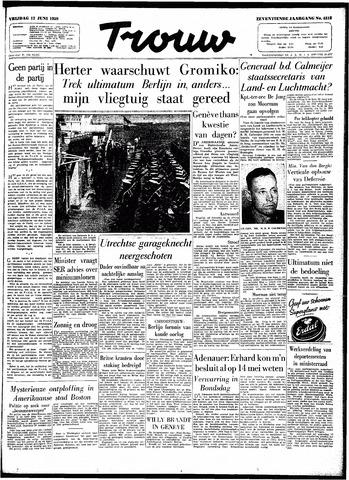 Trouw / De Rotterdammer 1959-06-12