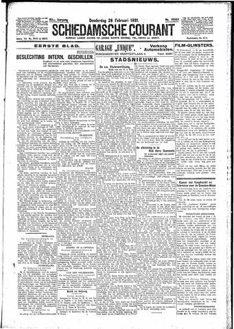 Schiedamsche Courant 1931-02-26