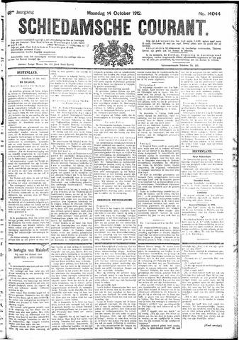 Schiedamsche Courant 1912-10-14