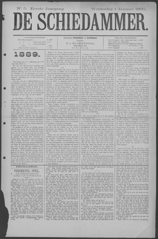 De Schiedammer 1890