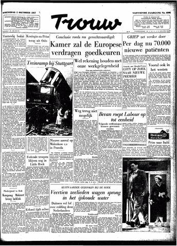 Trouw / De Rotterdammer 1957-10-02