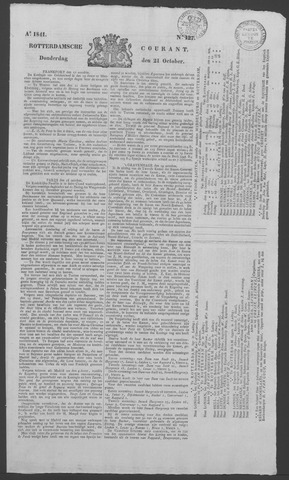 Rotterdamse Courant 1841-10-21