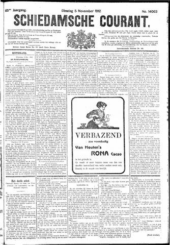 Schiedamsche Courant 1912-11-05